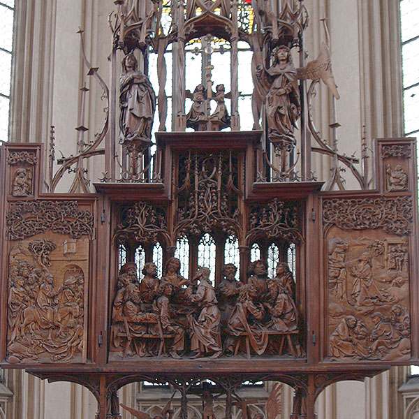 St. Jakobskirche Altar of the Holy Blood